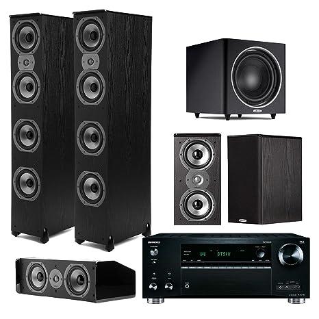 Amazon.com: Polk Audio TSI – 500 7.1 sistema de cine en casa ...