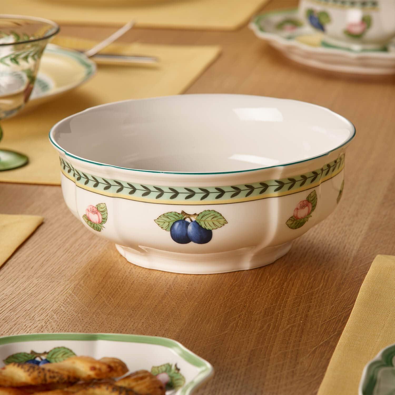 Porcellana Premium Bianco//Multicolore Villeroy /& Boch French Garden Fleurence Ciotola Rotonda