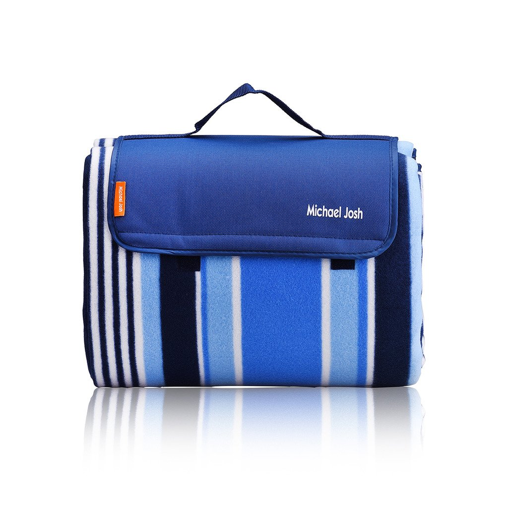 Large Outdoor Picnic Blanket,150 X 135 CM Water-Resistant Handy Mat Tote Great for the Beach,Camping Travelling on Grass Waterproof Sandproof Michael Josh