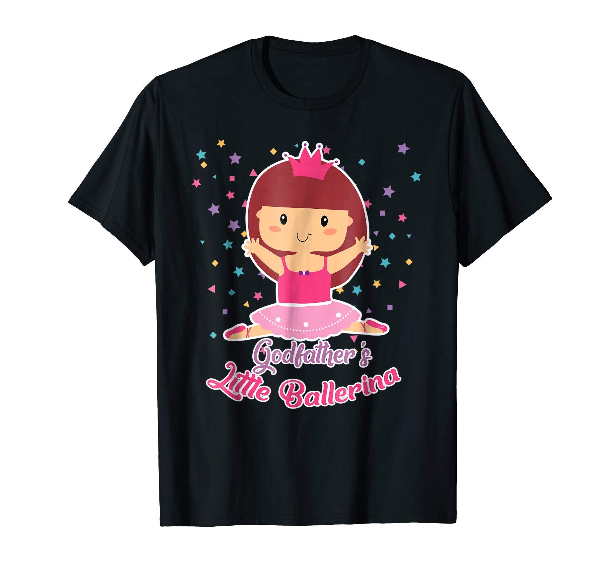 Godfathers-Little-Ballerina-Shirt-Ballet-Gifts-T-Shirt-Tee