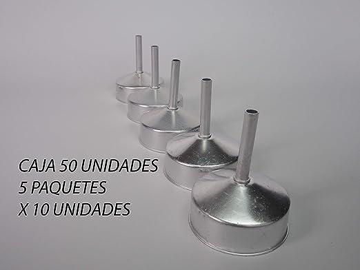 Sanfor 75014 Caja 50 embudo cafetera aluminio O.L. 6 tazas granel ...