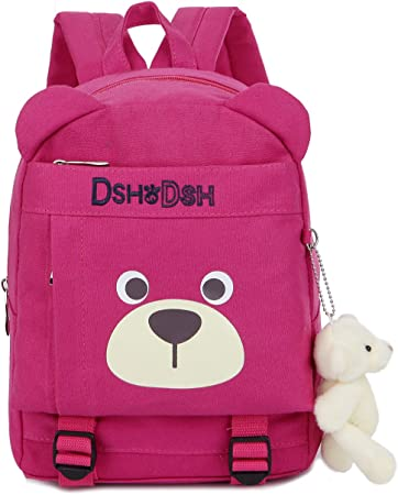 Kids Children Backpack Organizer with Leash Sling Rabbit for Boy Unisex Blue