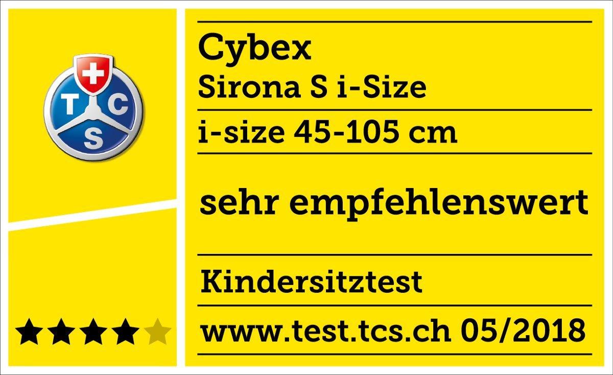 CYBEX Gold Sirona S i-Size Pour lenfant de 45 cm /à 105 cm 18 kg max. Manhattan Grey