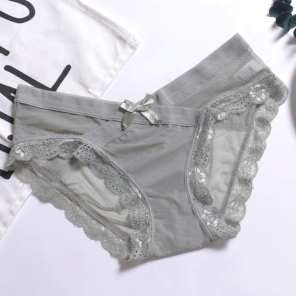 Redbrowm Sleepwear For Women,Cute Classic Young Bow Panties Perfect Experience