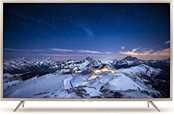 TCL 139.7 cm (55 inches) 4K Ultra HD Smart LED TV L55P2US (Golden)