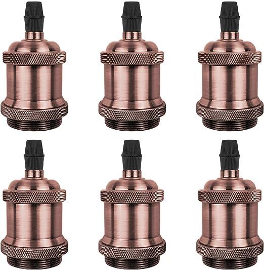 Portalampada per lampada industriale vintage Antique Edison E27 E26 Raccordo