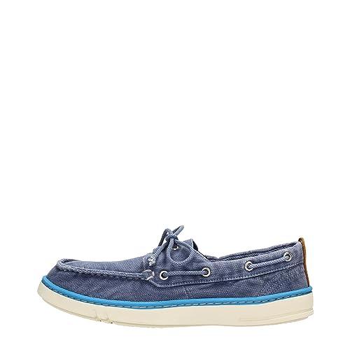Timberland A15H7 Mocasines Hombre Fibras Textiles Azul 41.5: Amazon.es: Zapatos y complementos