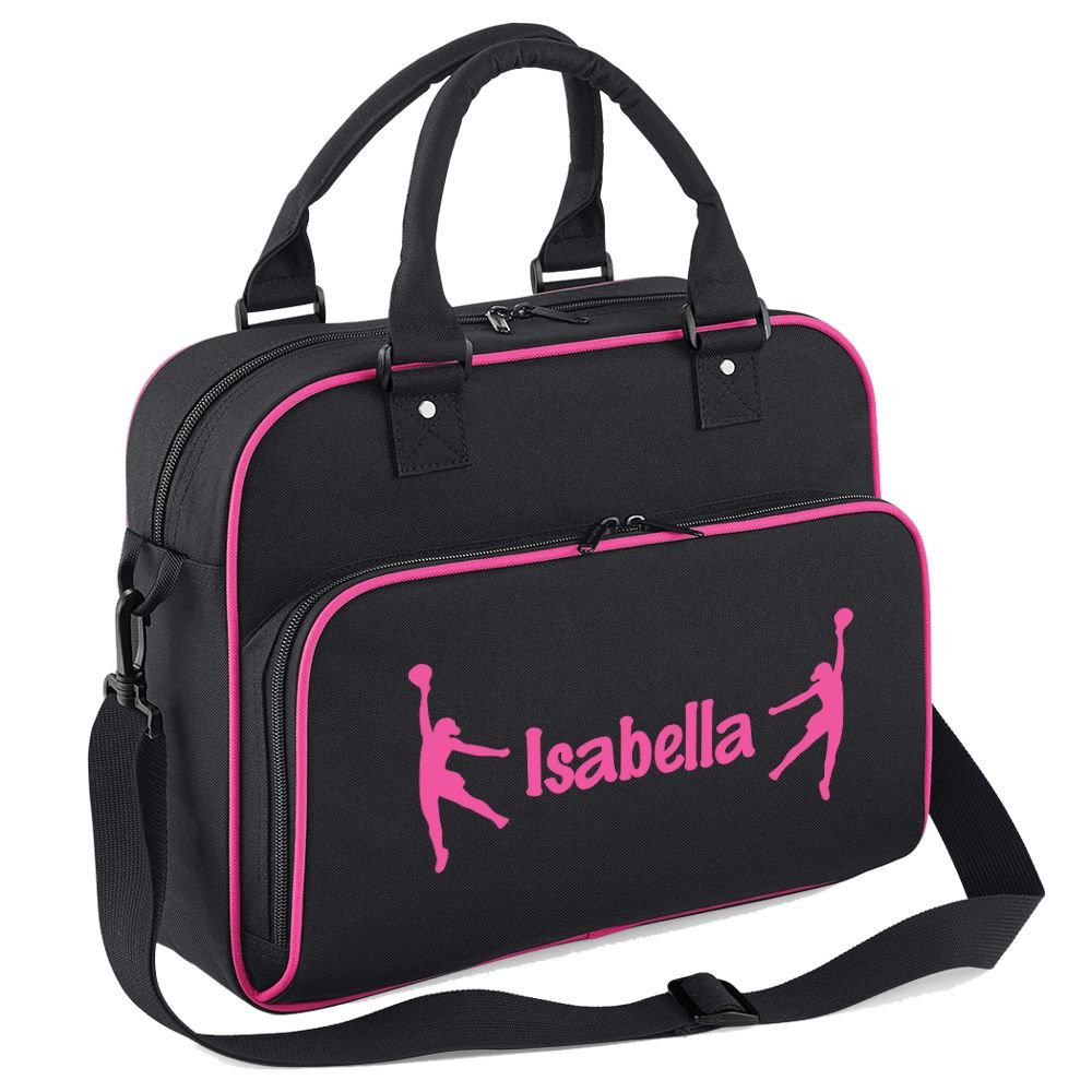 iClobber Personalised Netball Bag Your Name Or Club Design