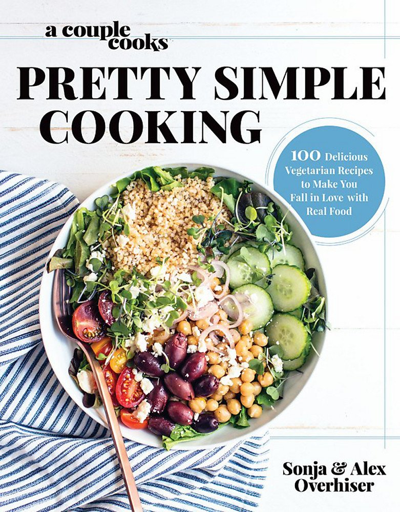 Couple Cooks Cooking Delicious Vegetarian product image