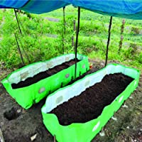 V K Vermibed (12x4x2) Ft, 340 GSM, HDPE Fabric, U V Coated Vermicompost Bed