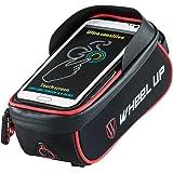Wheel Up Lenkertasche Rahmentasche Fahrradtasche Handyhalterung 6 Zoll Touch-Screen/Wasserabweisend