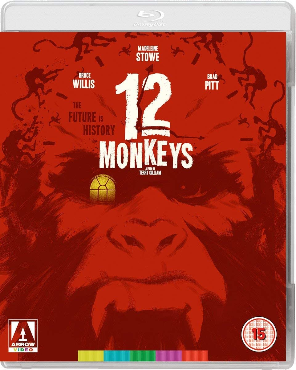 Image result for 12 monkeys blu-ray