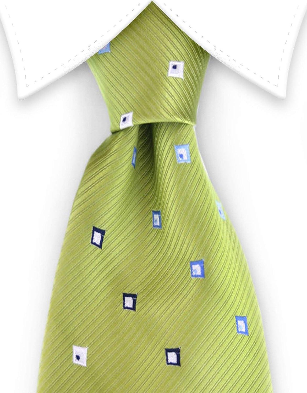Key Lime Mens Necktie Discount Tie