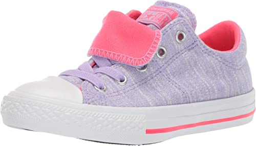 Converse Kids' Chuck Taylor All Star Maddie Pop Canvas Slip on Sneaker