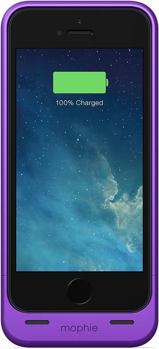 Mophie Coque batterie longue durée pour iPhone 5/5S Violet métallisé