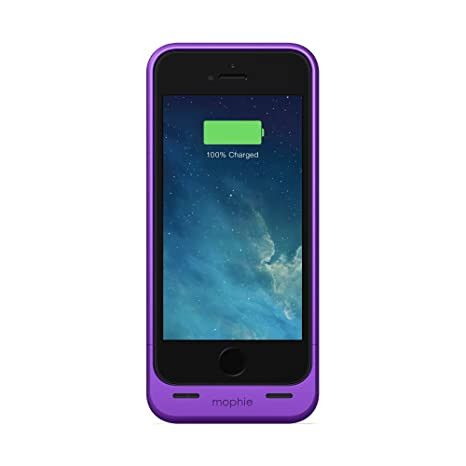 6b9f80397 mophie Extended Battery Case for iPhone 5: Amazon.in: Electronics