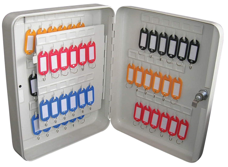 Safety First Aid Kc003Armoire à clés, gris, 60Clé Capacité 60Clé Capacité