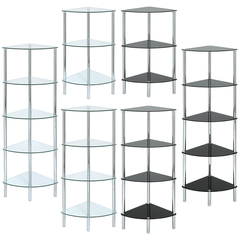 Hartleys Curved Corner Shelf Unit