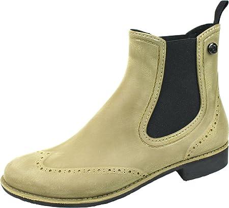 BOCKSTIEGEL® CHELSEA Donna - Mezzo Stivali di gomma alla moda | Chelsea  Boots | Impermeabile | Moda | Design esclusivo: Amazon.it: Scarpe e borse