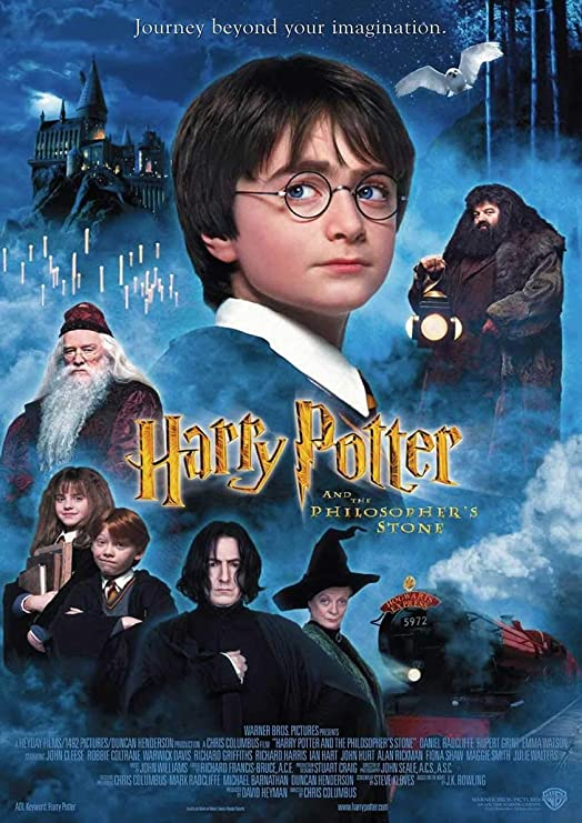 My Little Poster Cartel de Harry Potter 1 Harry Potter y la Piedra póster Arte de la Pared cinéma Filosofal