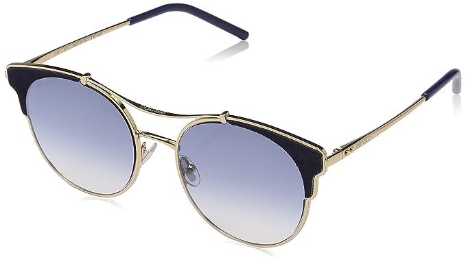 Jimmy Choo LUE/S VM LKS 59 Gafas de Sol, Dorado (Gold Blue ...