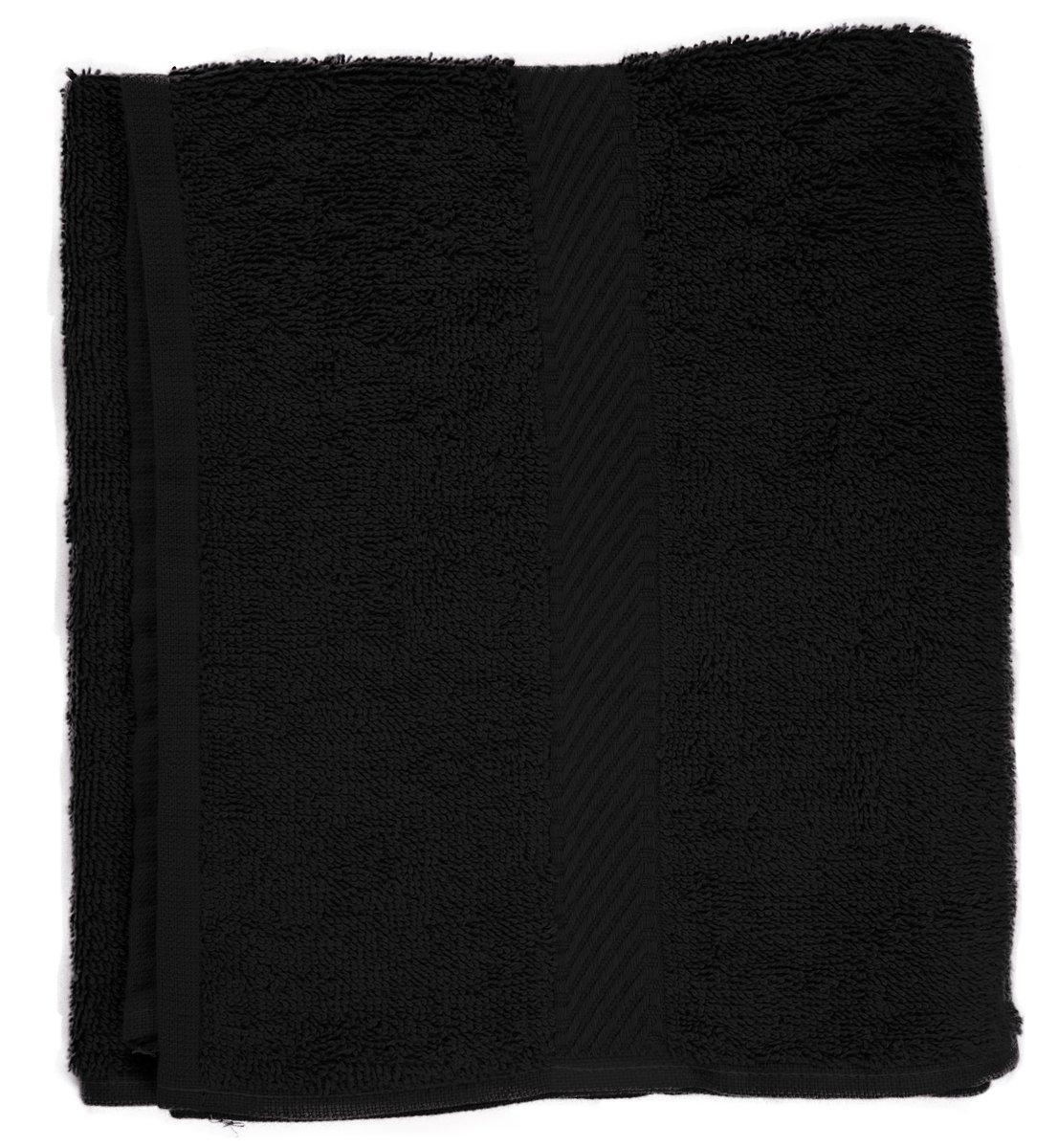 color negro Fripac-Medis 30 x 90 cm Toalla para la cabeza