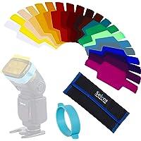 Cinta de goma universal para Flash Speedlight Color, accesorio de estudio, 3 unidades en 1 juego, de Selens