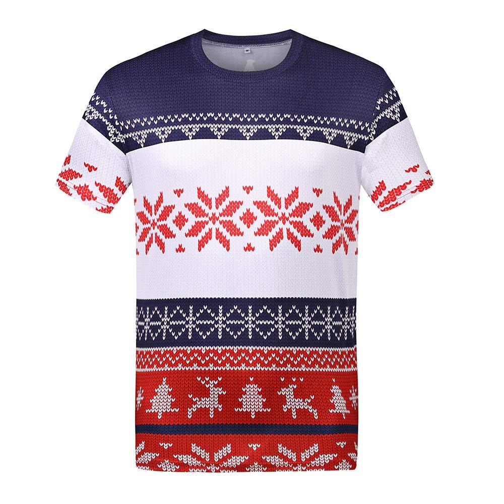Mens festivo rendimiento camiseta impresión, color , tamaño extra ...