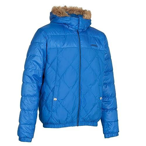 on sale cafc8 df15e para Hombre Adidas Neo Abajo Chaqueta d87852 Neo Label Chaquetas, Color  Azul, Talla 2 UK XL  Amazon.es  Zapatos y complementos
