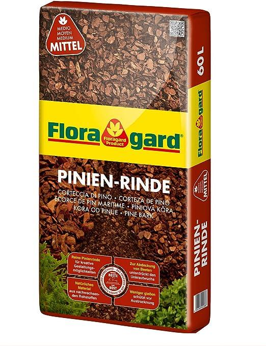 Floragarde Mantillo Corteza de Pino 15 – 25 mm 60 L, 114878: Amazon.es: Jardín