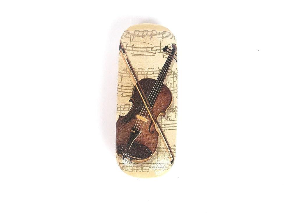 Violin Funda de Gafas 16 cm Musica Estuche para Gafas Graduadas Protector Vision Accesorios: Amazon.es: Handmade