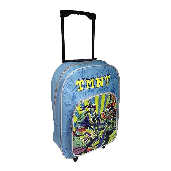 TORTUGAS NINJA Mochila con Trolley: Amazon.es: Juguetes y juegos