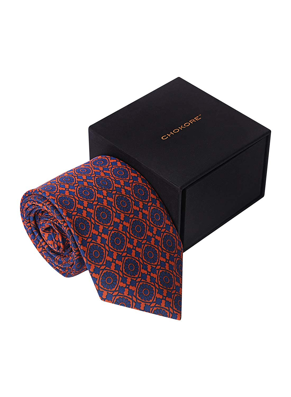 Chokore Red /& Blue Silk Tie Indian At Heart range