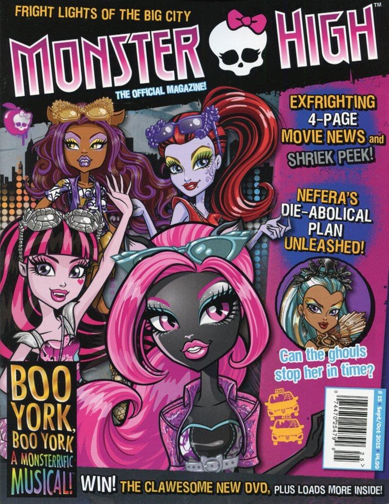 Monster High Magazine #15 PDF ePub fb2 ebook