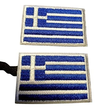 Griechenland Aufb/ügler Aufn/äher Patch Fahne Flagge