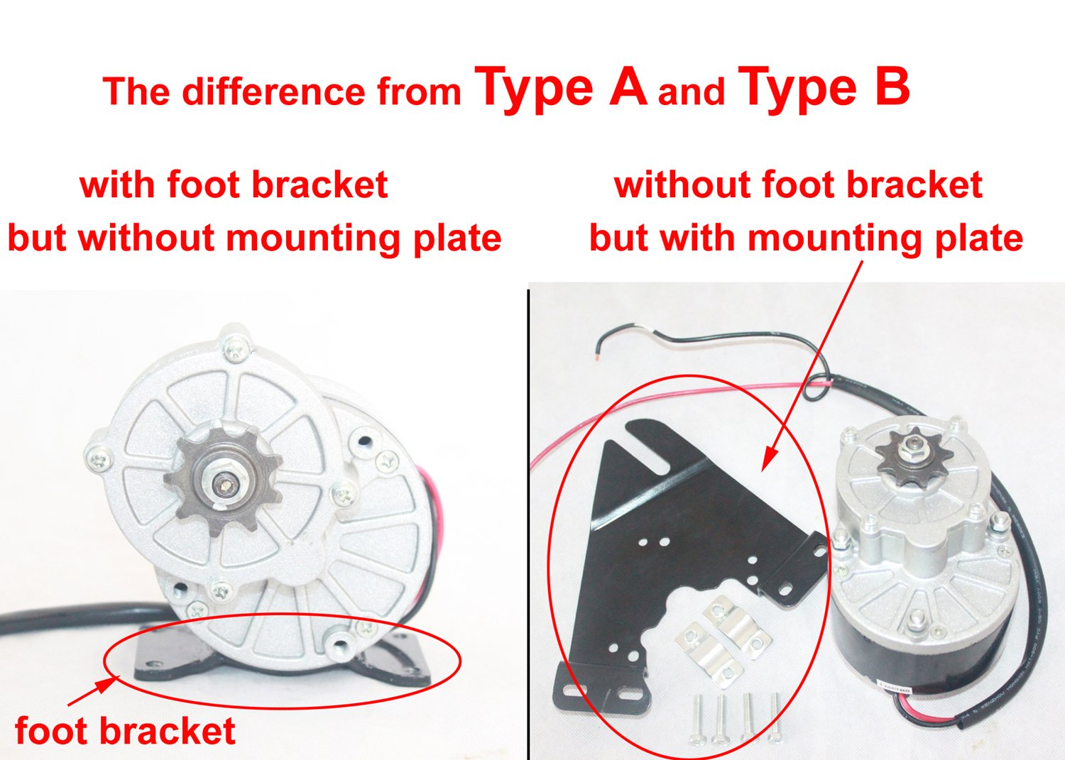 electric motor brush diagram. amazon.com : 24v250w electric dc motor brushes for bike conversion kit bicycle scooter sports \u0026 outdoors brush diagram m