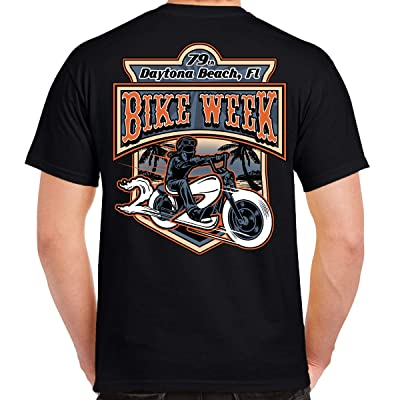2020 Bike Week Daytona Beach Rider T-Shirt Black | .com