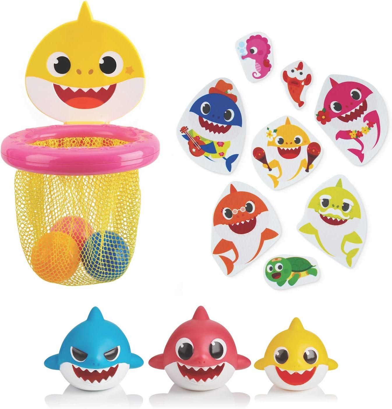 WowWee Pinkfong Baby Shark Official - Bath Toy Bundle (Amazon Exclusive)