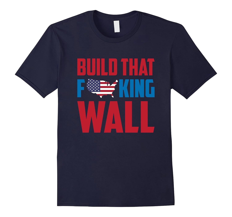 Original Build The Wall Tshirt-BN