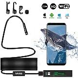 WOWGO Wireless Endoskop Kamera Wifi Inspektion Inspektionskamera IP 68 Wasserdichte Snake Kamera mit 8 Einstellbare LED 1200P HD Bild für Android & IOS Smartphone, iPhone, Samsung (3.5M)