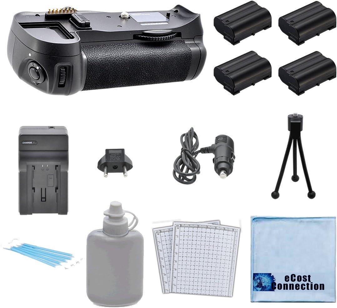 MB-D14 MBD14 Deluxe Starter Kit Car//Home Turbo Charger Battery Grip for Nikon D610 D600 DSLR Camera