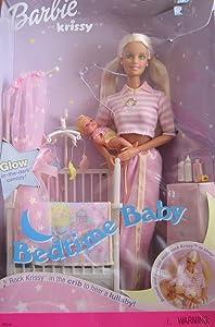 Barbie & Krissy - Bedtime Baby W/ Musical Crib (2000)