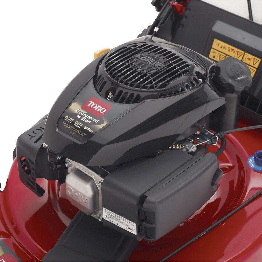 Toro 22 in. Kohler Low Wheel Self-Propelled Gas Lawn Mower