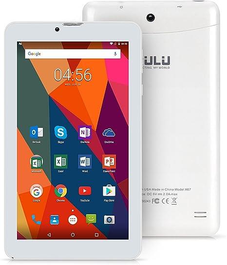 iRULU 7 pulgadas Quad Core 1.3 GHz Android 7.0 turrú Smartphone ...