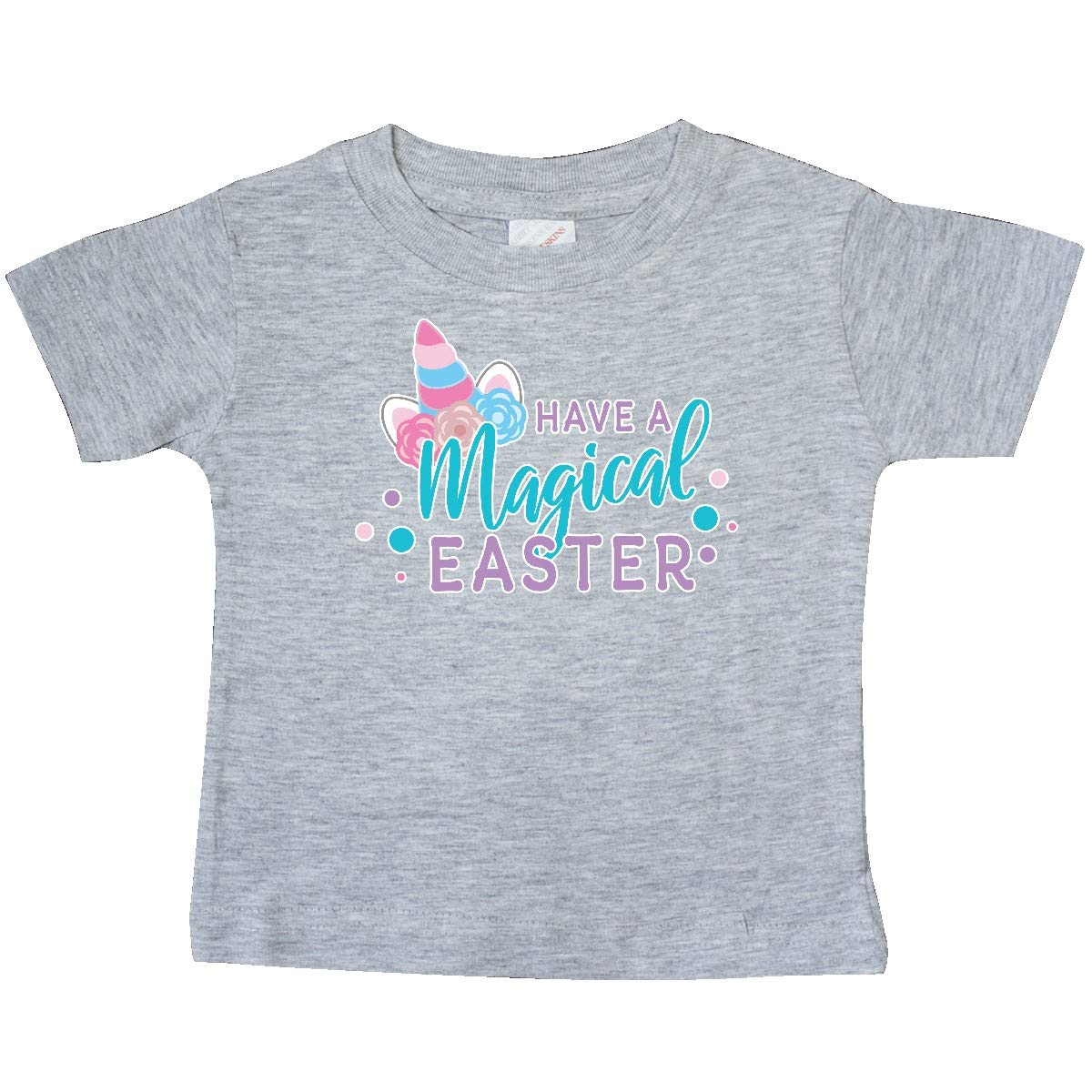 inktastic Have a Magical Easter with Unicorn Horn and Ears Baby T-Shirt