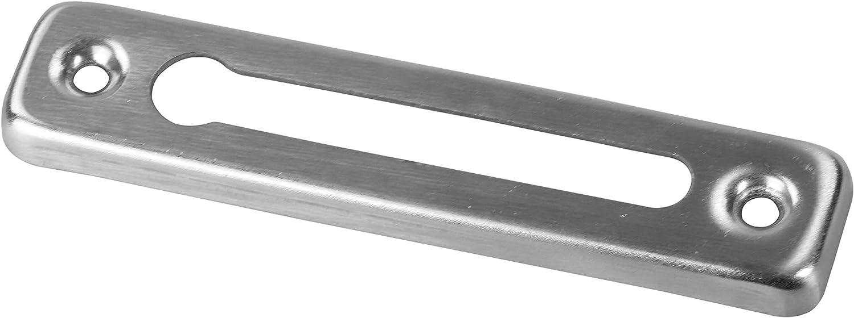 Edelstahl Silbern Kettenl/änge 20 cm LAUBLUST T/ürkette