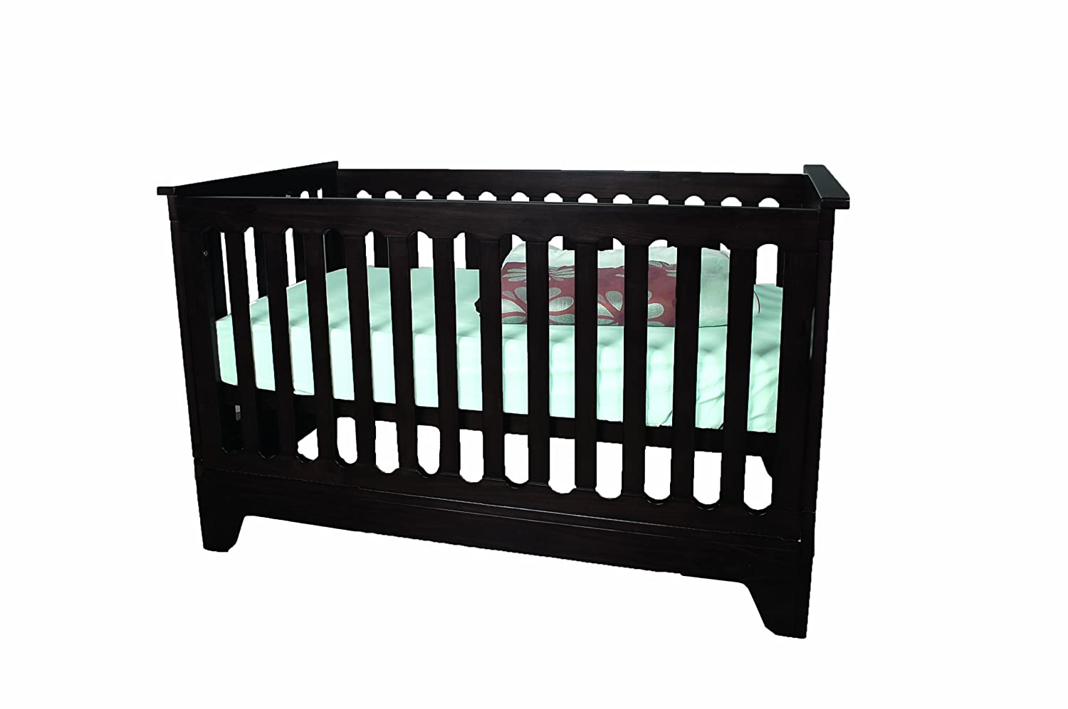 Pali crib for sale used - Amazon Com Pali Presto Fixed Sides Folding Crib Mocacchino Convertible Cribs Baby