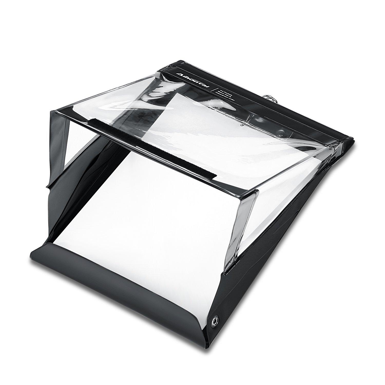 Waterproof Clipboard, Aihontai Rain Weather Waterproof Clipboard Writer A4 Size- Premium PVC Material Outdoor Clipboard [18-Month Warranty] (Black, A4 Portrait)