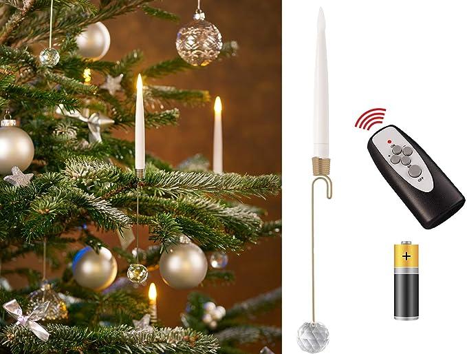 "Décoration De Noël 10/"" Tall or Lumière Scintiller Arbre de Noël"