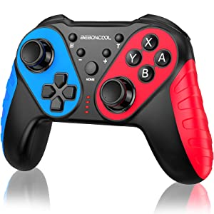 Switch Controller for Nintendo Switch, Replace for Nintendo Switch Controller, Switch Pro Controller Work with Nintendo Switch/Lite, BEBONCOOL Switch Controller with Turbo, Vibration, Motion Q44